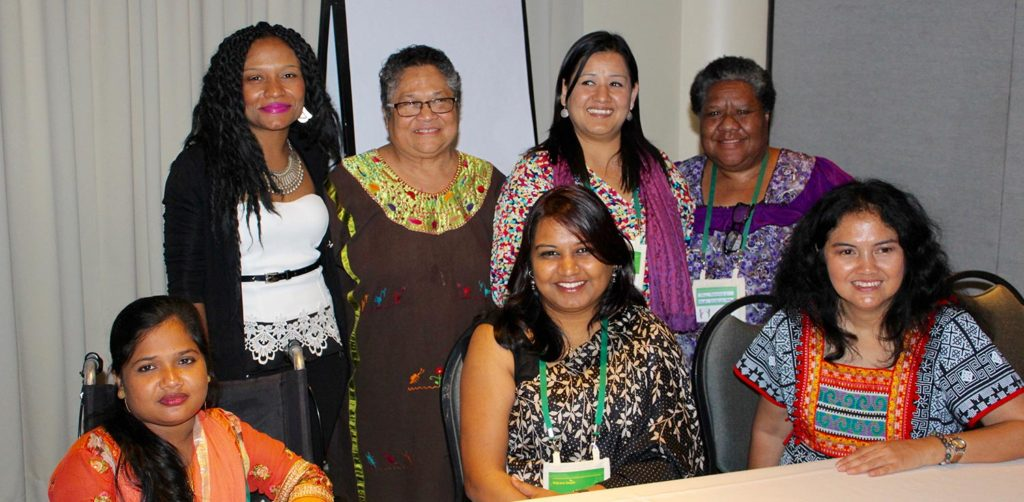 6 diverse women panelists speak on inclusion of women with disabilities