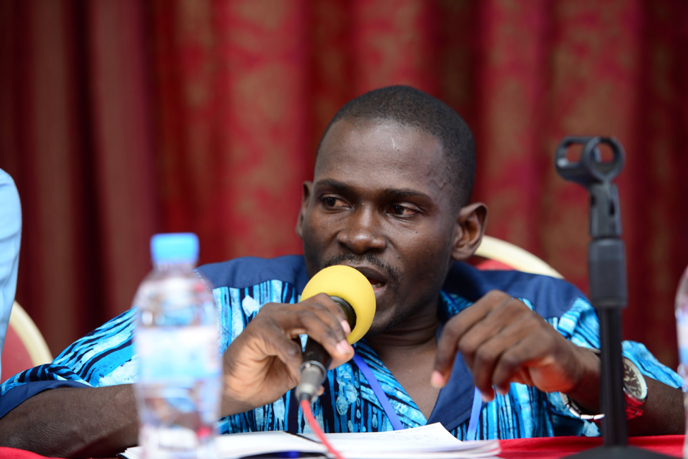 Apollo Mukasa , the Executive Director of Uganda National Action on Physical Disability (UNAPD)